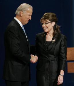 Biden and Palin meet at debate