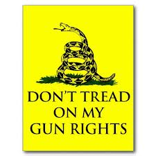 Dont tread on my gun rights